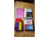 Academic books - mental health, x4, £4 for lot
