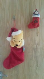 Winnie the Pooh & Eeyore Christmas Stockings