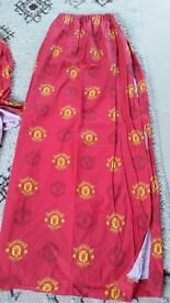Manchester United Pair Curtains