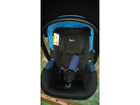Silver Cross Simplicity Group 0+ Car Seat, Black, Great Condition, New Price £111.14