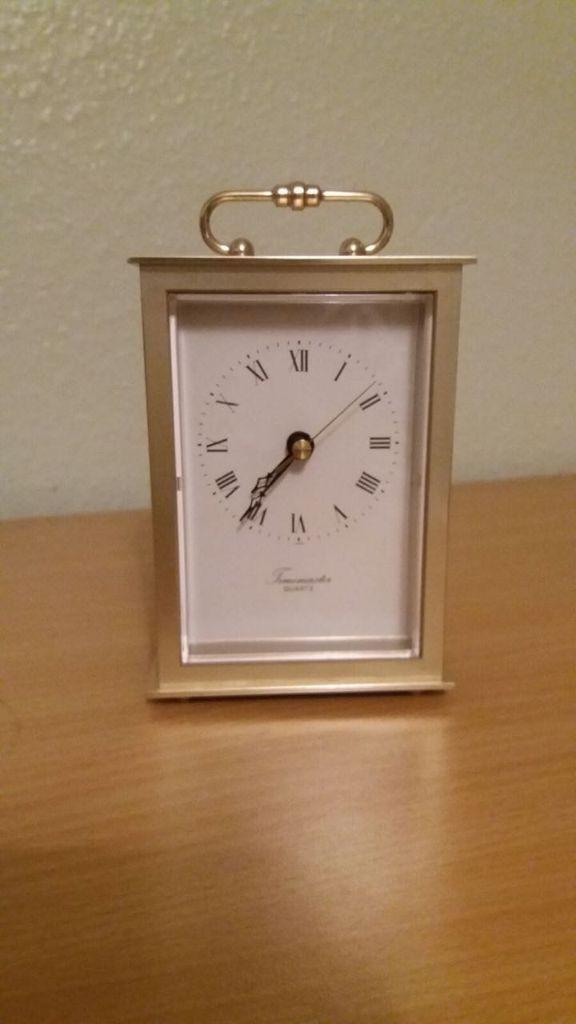 Carriage Clock Timemaster Quartz Made In Japan In