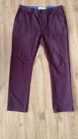 Men's chino style trousers 36R