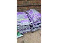 Plum ornamental garden slate x 4 bags