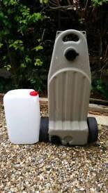 Caravan Waste Water & Fresh Water Containers