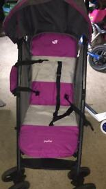 Joie Nitro Stroller Charcoal Pink