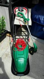 For sale qualcast hover mower and trimmer