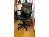 Executive Leather Effect Chair