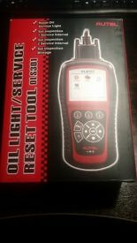 autel ols 301 oil and inspection service reset new