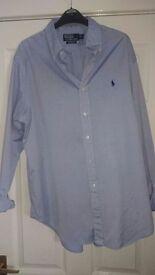 ralph lauren shirt x/l