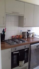 2 rooms for rent in 3 bed apartment in heart of Hastings town, next to college and train station.