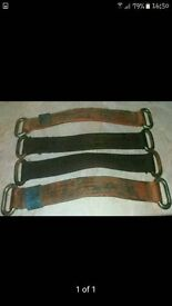 RECOVERY WHEEL STRAPS X 4