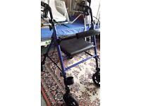 Rollator by Drive folding walker