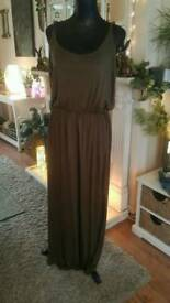 Brand new dress with tags olive green size 16