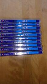 Verbatim BD-R 25GB 6x, 10-pack Jewelcase wide Inkjet printable