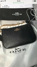 Genuine Coach Nolita small wristlet bag/clutch