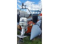 Avon Searider 5.4 with trailer and 115Hp Outboard