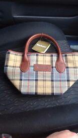 Brand new ladies barbour handbag