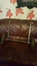 Rear wheels for trolly