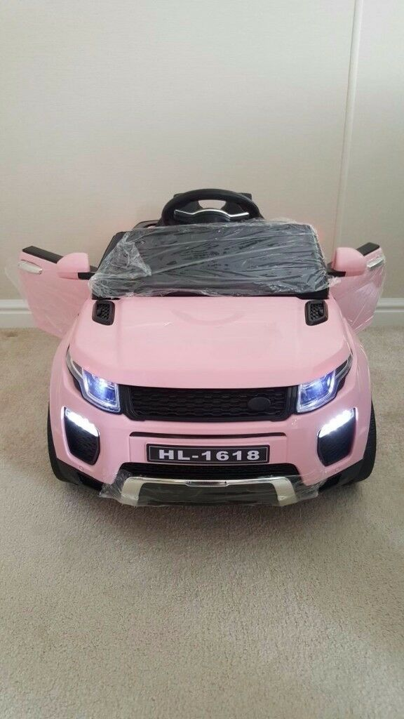 🎁🎄 kids ride on 12 volt pink jeep perfect for christmas 🎄🎁