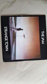 "7"" vinyl singles by The Jam."