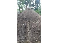 Top soil black ground