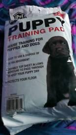Free Puppy training pads