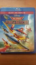 DISNEY PLANES 2 - Fire and Rescue BLU-RAY+DVD+DIGITAL HD COPY - BRAND NEW