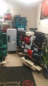 New Chicago Pneumatic 30g Gas Driven Air Compressors IN STOCK