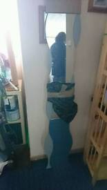 Ikea wavey wall mirror