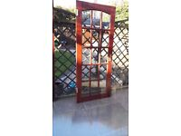 15 Glass panel door c/w hinges and handles. Free to good home for a bottle of Merlot