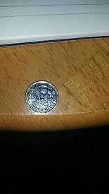 Rare new pound coin