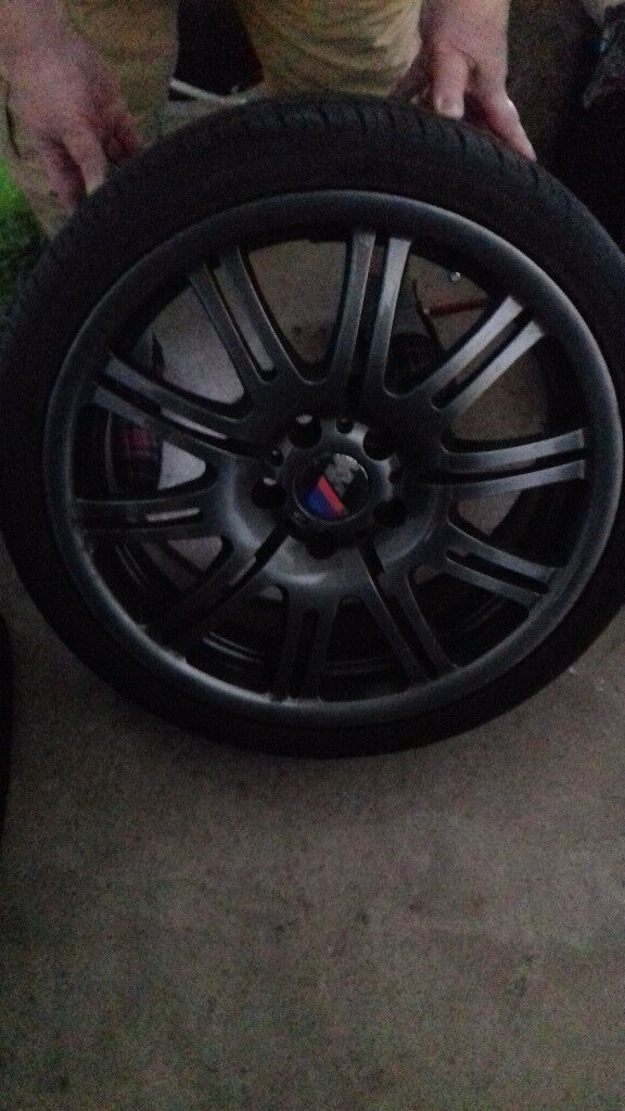 4x M3 Wheels and Tyres