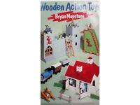 Wooden Action Toys HARDBACK by Bryan Mapstone - Used