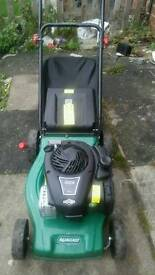 Petrol lawnmower and petrol strimmer only bought last summer used 3 times