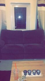 Large grey 3 seater sofa