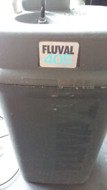 LARGE FLUVAL 405 EXTERNAL FILTER FOR SALE,FILTERS TANKS UP 450 LITER