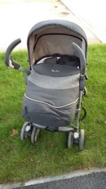 Silver cross 3d travel system with car seat and isofix base