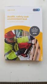 CITB Health and Safety and Environment 2018