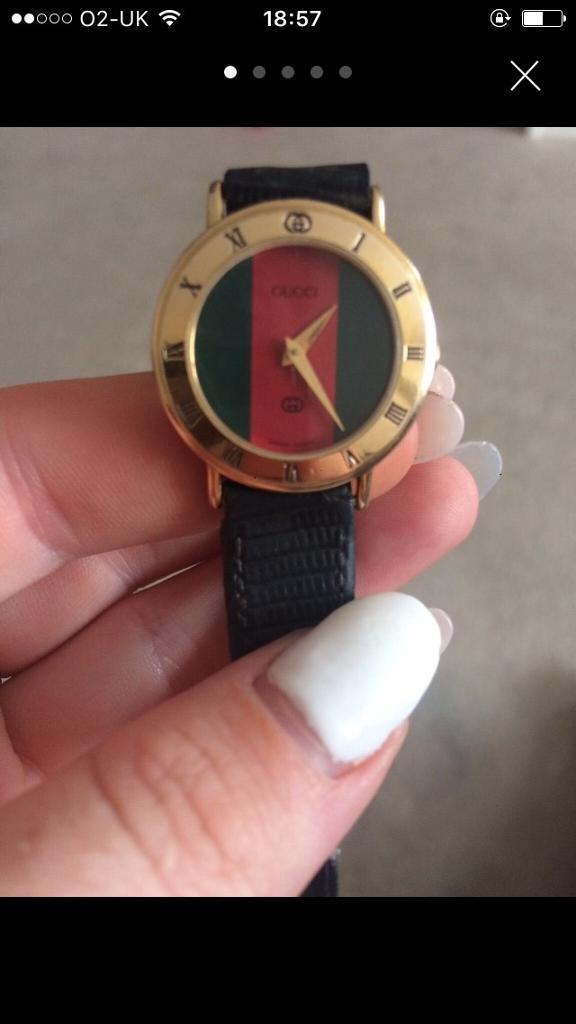 Beautiful vintage Gucci watch