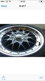 BBS 17 inch wheels