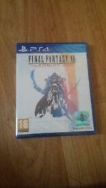 Final Fantasy 12 XII The Zodiac Age Ps4 NEW Sealed