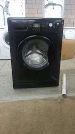 BLACK BEKO 8KG 1200 SPIN WASHING MACHINE WITH 3 MONTHS GUARANTEE