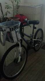 FOR SALE APOLLO LADIES BIKE WITH BASKET