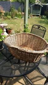 Large Antique Laundry basket