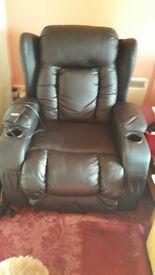 reclinning/rise armchair