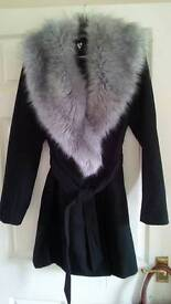 VERY fur coat size UK12 RRP £110