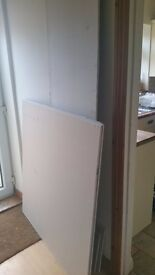 Plasterboard offcuts 12.5 mm thick