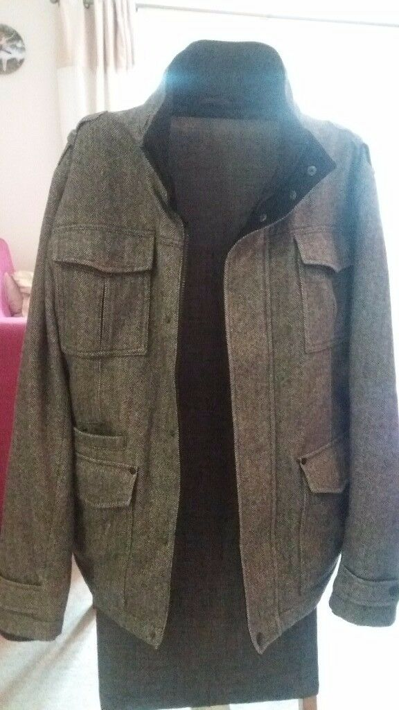 Next italian wool jacket (large)