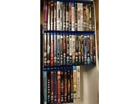 46 Blu-ray movie job lot