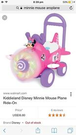 4 in 1 Minnie Mouse airplane